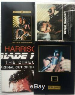 Blade Runner DVD Box Set Deleted Cda Deluxe Series New & Sealed