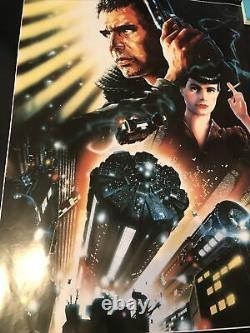 Blade Runner Film Poster. Original 1992 Directors Cut UK Movie
