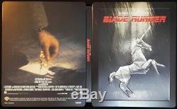 Blade Runner Final Cut 4K ULTRA HD & Blu-ray Set Steal Book New from Japan