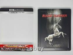 Blade Runner Final Cut Japan STEELBOOK 4K Ultra HD Blu-ray + Digital