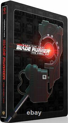 Blade Runner Final Cut Titans of Cult Ltd Edit 4K UHD Blu-ray Steelbook New OOP
