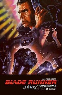 Blade Runner Foil Variant John Alvin Poster Print Movie Poster bng Mondo xx/175