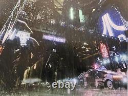Blade Runner Harrison Ford Movie Foil Art Print Poster Mondo Oliver Rankin