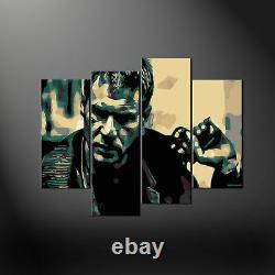 Blade Runner Harrison Ford Rick Deckard Canvas Print Picture Wall Art