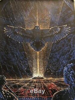 Blade Runner Harrison Ford Ridley Scott Movie Art Print Poster Mondo Kilian Eng