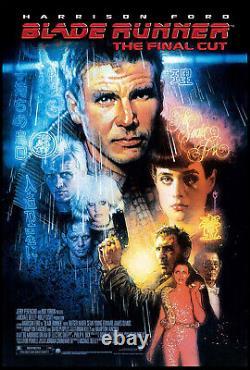 Blade Runner Harrison Ford Ridley Scott R-2007 Final Cut Ds 1-sheet Rolled