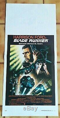 Blade Runner Harrison Ford Sci Fi Locandina Originale Versione Americana