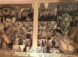 Blade Runner Harrison Ford Variant New Flesh Movie Art Print Poster Mondo
