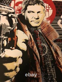 Blade Runner James Rheem Davis Limited Edition Art Print Deckard Mondo