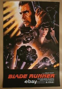 Blade Runner John Alvin Limited Screen Print Bottleneck Gallery Numbered AP