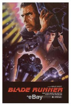 Blade Runner John Alvin Movie Screen Print Poster Foil Variant Bottleneck
