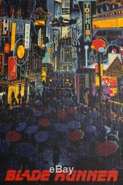 Blade Runner Killian Eng Mondo Movie Poster Commission Print Regular Edition