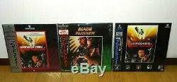Blade Runner Laserdisc LD Njwl-20008 Njl-20008 08jl-70008 Free Shipping Japan