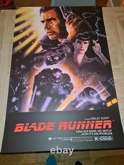 Blade Runner Limited Edition Screen Print by John Alvin nt Mondo