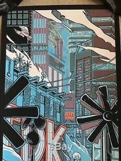 Blade Runner Movie Poster Art Tears in the Rain Roy Batty Rutger Hauer Tim Doyle
