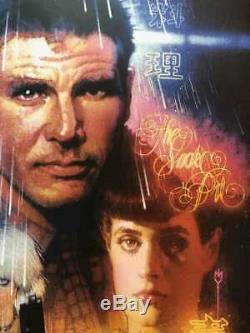 Blade Runner O/A Version Drew Struzan Bottleneck & Mondo Artist Print