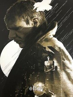 Blade Runner Olive Variant Screen Print by Gabz Sold Out Only 75 NT Mondo