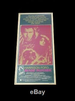 Blade Runner Original 1982 Australian One Sheet Movie Poster Savage World 2019