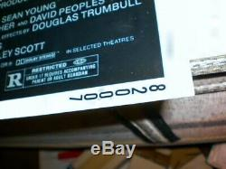 Blade Runner Original 1982 Movie Insert Poster Harrison Ford- Original Owner