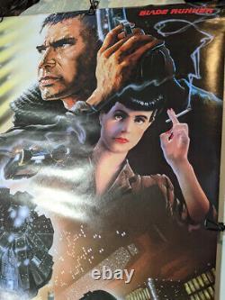 Blade Runner Original 1982 One Sheet Movie Poster 27 x 39 Unique Gift Idea