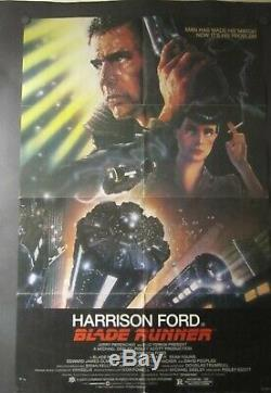Blade Runner Original One Sheet Movie Poster. 1982 27 X 41