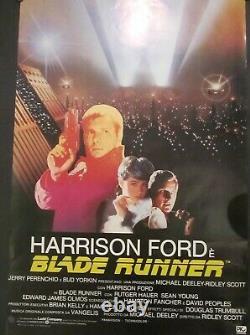 Blade Runner Original One Sheet Movie Poster. 1982 27 X 41 Italian