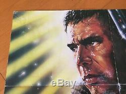 Blade Runner Original One Sheet Movie Poster 1982 Harrison Ford 27x41