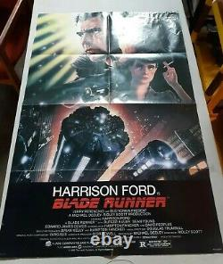 Blade Runner Original one-sheet Poster 27x41 (1982) Harrison Ford