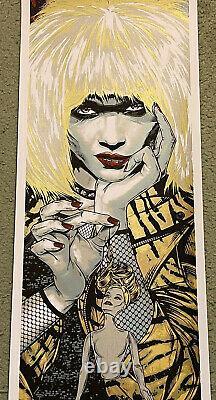 Blade Runner Pris Daryl Hannah Sci-Fi Movie Art Print Poster Mondo Rhys Cooper