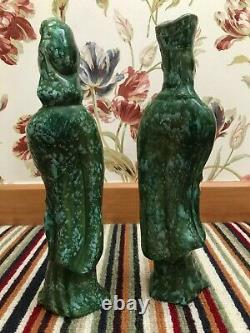 Blade Runner Prop. Ceramic Asian Man & Woman Figurines. 1974. FREE SHIPPING