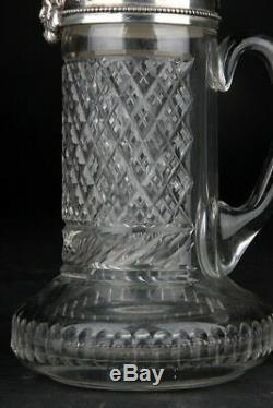 Blade Runner Props Rare Tyrell Glass & Silver Jug (Topazio) + Mikasa Bud Vase