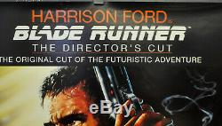 Blade Runner R1992 Orig 27x41 Movie Poster Harrison Ford Rutger Hauer