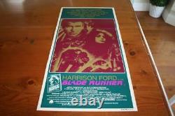 Blade Runner Rare 1982 Australian Orig Daybill Movie Poster Comes In Good Cond