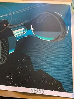Blade Runner Rare Movie Art Print by Craig Drake from HCG studios Long Sold Out