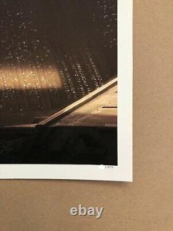 Blade Runner Regular Pyramid Screen Print by Pablo Olivera NT Mondo