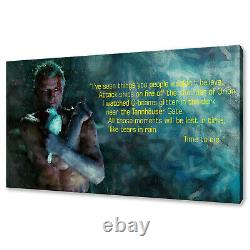 Blade Runner Roy Batty canvas print picture wall art free fast delivery