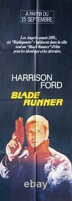 Blade Runner Scott / Ford Rare Original Door Panel French Movie Poster