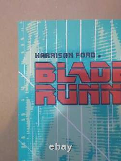 Blade Runner Screen Print Poster Regular Art by Aurelio Lorenzo Nt Mondo