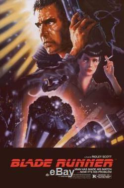 Blade Runner Screen Print Poster Regular by John Alvin #/425 BNG NT Mondo