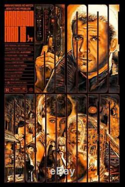 Blade Runner Screen Print by Christopher Cox VARIANT Ltd /57 Movie Poster Mondo