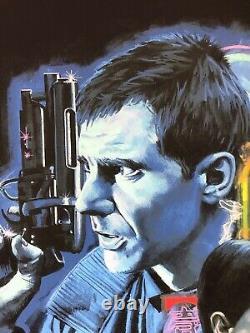 Blade Runner Screen Print by Paul Mann NT Mondo Edition of 150 Harrison Ford