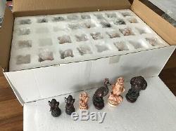 Blade Runner Sebastian British-Birds Chess pieces (half the price of Hoyles set)