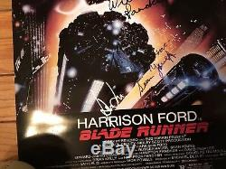 Blade Runner Signed