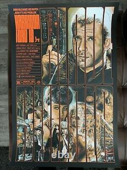 Blade Runner Silk Screen Poster Christopher Cox Fan Art Harrison Ford Sci Fi