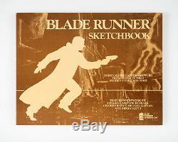 Blade Runner Sketchbook Pristine Condition Ridley Scott Syd Mead