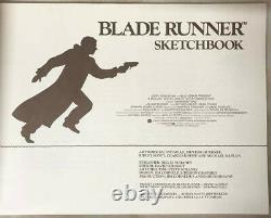 Blade Runner Sketchbook Various Artists Illustrations 1st Edition June 1982
