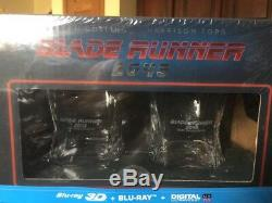 Blade Runner Steelbook And Whiskey Glasses Set Import Brand New Sold Out