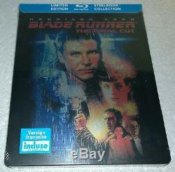 Blade Runner The Final Cut (2011, Canada, Region Free) Steelbook NEW