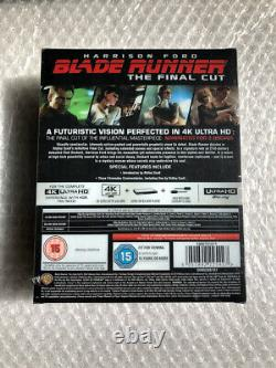 Blade Runner The Final Cut 4K/2DTitans of Cult Limited UK SteelbookNew Sealed