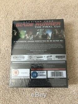 Blade Runner The Final Cut Titans of Cult 4K Steelbook 2019 U. K Edition. NEW
